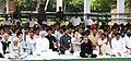 Pranab Mukherjee, the Vice President, Shri Mohd. Hamid Ansari, the Prime Minister, Dr. Manmohan Singh, the Speaker, Lok Sabha, Smt. Meira Kumar, the Union Minister for Urban Development, Shri Kamal Nath, the Chairperson.jpg