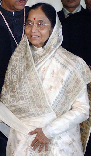 2007 in India - Prathiba Patil is elected as the first female President of India