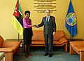 Presentation of Letters of Credentials Mozambique OPCW (46897339324).jpg