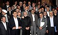President Ahmadinejad and his cabinet members after last meeting.jpg