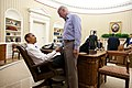 President Barack Obama and Vice President Joe Biden shake hands in the Oval Office following a phone call with House Speaker John Boehner securing a bipartisan deal to reduce the nation's deficit and avoid default.jpg