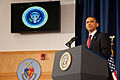 President Barack Obama speaking on the military intervention in Libya at the National Defense University 5.jpg