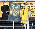 Prime Minister Modi participates in 'Abhar Samaroh', at Sissu, in Himachal Pradesh on October 03, 2020. The Chief Minister of Himachal Pradesh is also seen.jpg