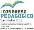 Primer Congreso Pedagógico San Pedro 2012.jpg