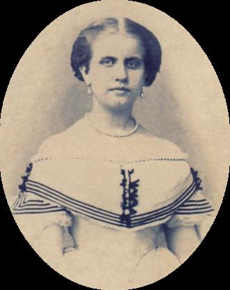 Princess Leopoldina of Brazil - Princess Leopoldina around age 17, c.1864