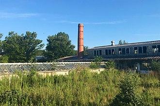 Princeton Nurseries - Image: Princeton Nurseries, Middlesex County, NJ Propagation House and Greenhouse