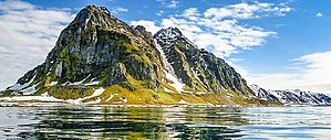 Svalbard - Prins Karls Forland was protected as Forlandet National Park in 1973