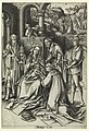 "Print, Adoration of Magi, plate 7 from series ""Life of the Virgin"", ca. 1490 (CH 18420587).jpg"