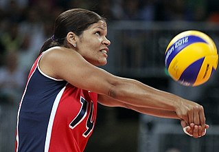 Female volleyball player from the Dominican Republic