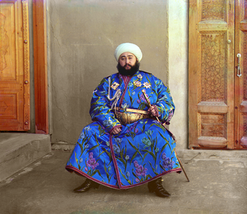 امیر عالمخان در سال ۱۹۱۱