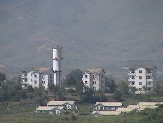 Peace Village (North Korea) - View of Kijŏng-dong