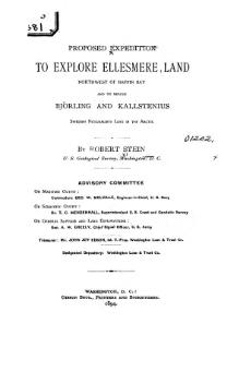 Proposed Expedition to Explore Ellesmere Land - 1894.djvu