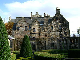 Provand's Lordship - The rear of Provand's Lordship