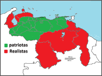 First Republic of Venezuela - The First Republic of Venezuela