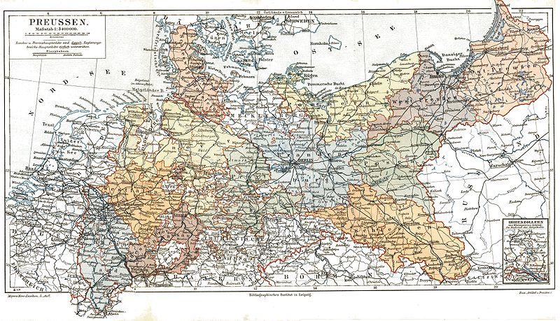 年内崛起并统一德国