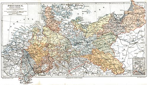 Prussian provinces before 1905