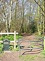 Public Footpath to Nature Reserve, near Stourbridge Top Lock - geograph.org.uk - 389927.jpg