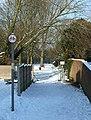 Public footpath to Woodland Walk, Penn, Wolverhampton - geograph.org.uk - 1147411.jpg