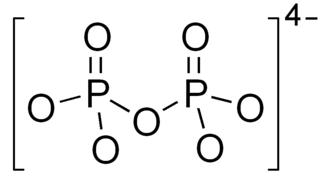Pyrophosphate - Image: Pyrophosphate anion