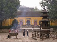 Qixia Temple, the buddhist temple was first built in 5th century.