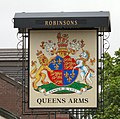 Queens Arms Sign - geograph.org.uk - 1376700.jpg