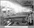 Queensland State Archives 3692 Rocklea workshops shop assembly of 187ft truss Brisbane 1 September 1936.png