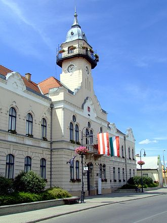 Ráckeve - The town hall of Ráckeve