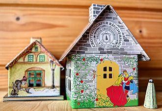 Räucherkerze - Incense houses (Räucherhäuschen)