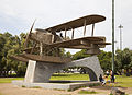 Réplica del avión del primer vuelo transatlántico portugués, parque de Belem, Lisboa, Portugal, 2012-05-12, DD 01.JPG