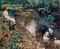 Rêverie près du ruisseau (Evariste Carpentier).jpg