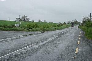 R489 road (Ireland) - Image: R489road