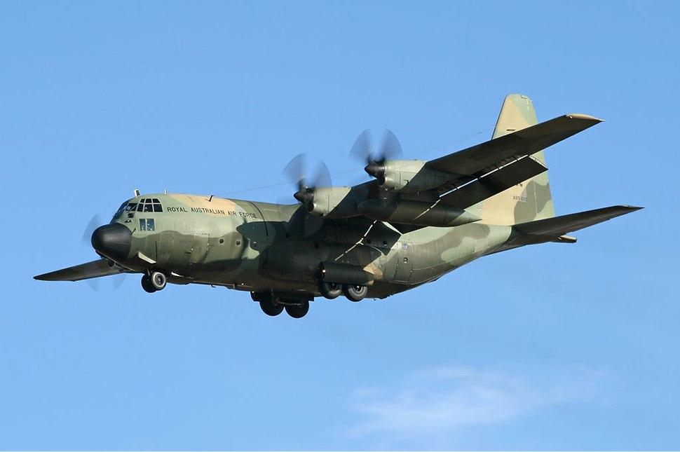 RAAF Lockheed C-130H Hercules AVV Creek