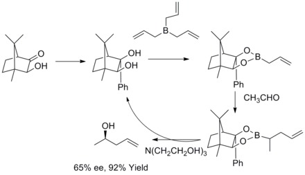 Roush Asymmetric Allylation-1