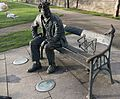 REMEMBERING BRENDAN BEHAN (PUBLIC ART BESIDE LOCK 2 ON THE ROYAL CANAL)--111891 (24746426639).jpg