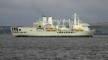 Rfa fort george im firth of clyde