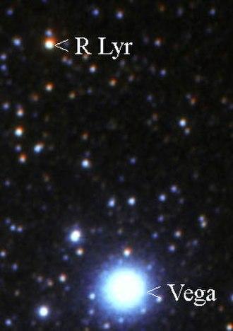 R Lyrae - R Lyrae near Vega