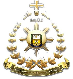 University of Santo Tomas Golden Corps of Cadets - Image: ROTC