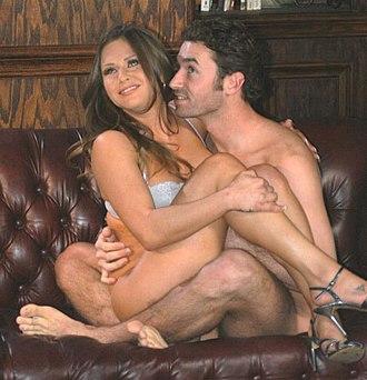 James Deen - Deen with Rachel Roxxx in a pornographic shooting