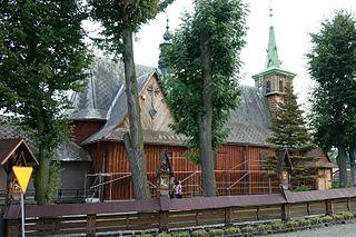 Radocza Village in Lesser Poland Voivodeship, Poland