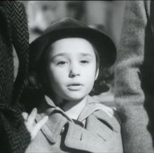 Raffaella Pelloni a 9 anni in Tormento del passato (1952) di Mario Bonnard