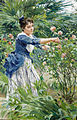 Raffaello Sorbi Pruning the roses.jpg