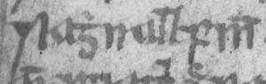 Raghnall Mac Ruaidhrí - Image: Raghnall Fionn mac Ruaidhrí Mhic Ruaidhrí (National Library of Scotland Advocates' MS 72.1.1, folio 1v)