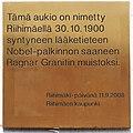 Ragnar Granitin aukion laatta 2008.jpg