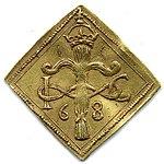 Raha; klippinki; markka; 2 markkaa - ANT2-628 (musketti.M012-ANT2-628 1).jpg