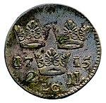 Raha; markka; 2 markkaa - ANT5b-81 (musketti.M012-ANT5b-81 2).jpg