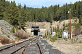 Rail tunnel at Tennessee Pass, Colorado.jpg