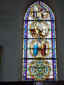 Raimbeaucourt (Nord, Fr) église, vitrail 08.JPG