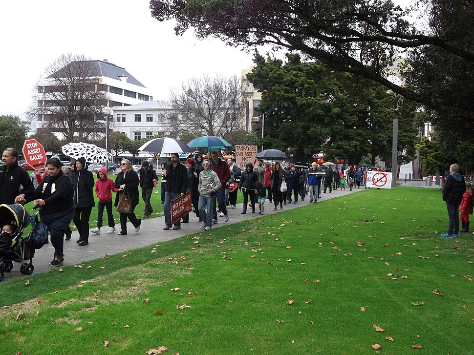 Rally Against Asset Sales, Palmerston North, 14 July 2012 07