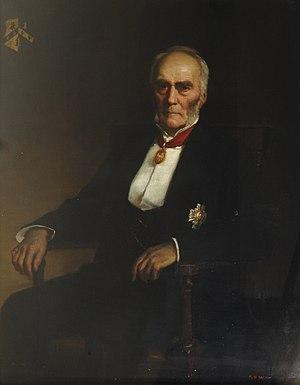 Ralph Lingen, 1st Baron Lingen - Ralph Robert Wheeler, Lord Lingen, by George Percy Jacomb-Hood, 1896