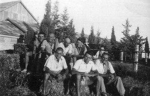 Ramat Rachel - Members of Ramat Rachel, 1944